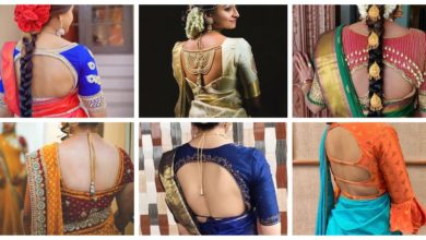 Photo of Best Stunning Latest Saree Blouse Back Neck Design