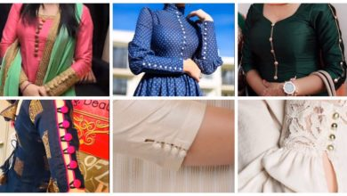 Photo of Button sleeves designs for kurti