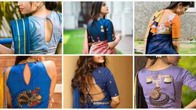 Photo of Awesome Collection of Saree Blouse Back Neck Designs