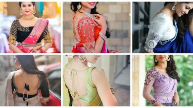 Photo of Awesome saree blouse design