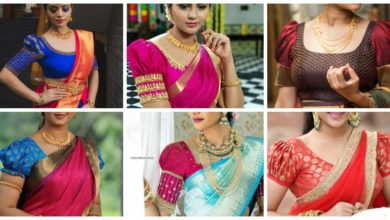 Photo of Traditional Puff Sleeve Blouse Designs