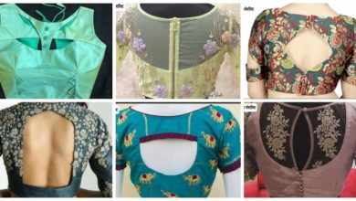 Photo of Beautiful Blouse Back Neck Designs
