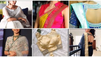 Photo of New Saree Blouse Designs