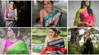 Photo of Trend of Wearing Sarees With Mismatched Blouses