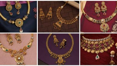 Photo of Gold Antique Necklace Designs