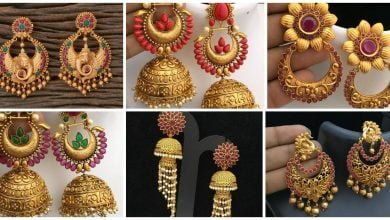 Photo of Latest Traditional Gold Earrings Design