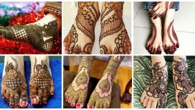 Photo of Leg mehndi design