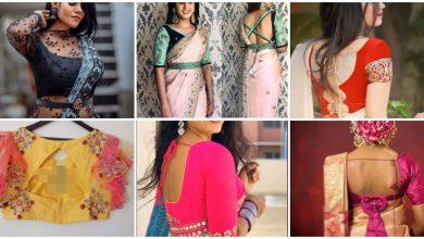 Photo of Latest Saree Blouse Designs