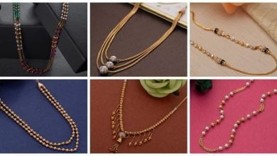 Photo of Latest Light Weight Gold Necklace designs