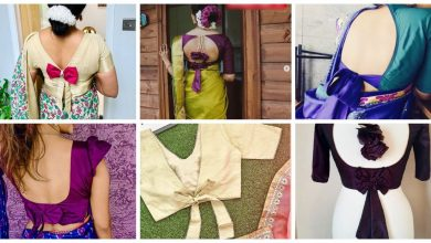 Photo of New bow back blouse design ideas