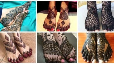 Photo of Top15 leg mehndi design