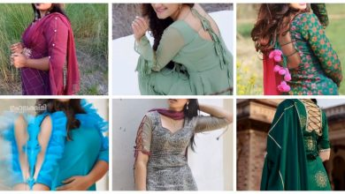 Photo of Amazing different type of  kurti sleeves design &neck design