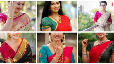 Photo of Simple Saree Blouse Designs