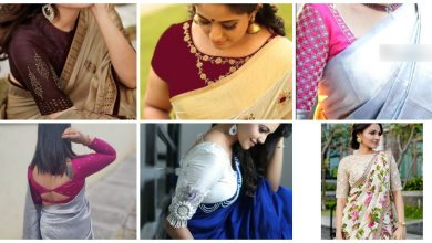 Photo of 16 Attractive Blouse Designs