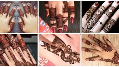 Photo of Latest Finger Mehndi Designs