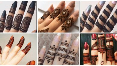 Photo of Elegant & Stylish Fingers Mehndi  Designs