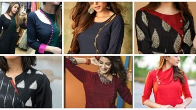 Photo of Stylish side neck designs for kurti
