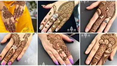 Photo of Beautiful hand mehndi design