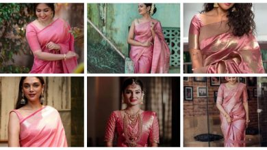 Photo of The elegant &delicate onion pink sarees