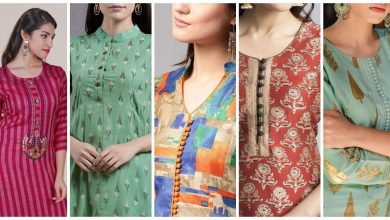 Photo of Trendy button neck  kurti design