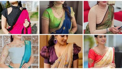 Photo of Latest & Beautiful Sari Blouse Neck Designs