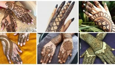 Photo of Stylish backhand mehndi design