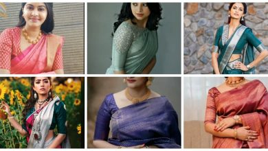 Photo of Classic Mid-Length simple saree blouse sleeve designs