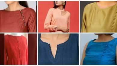 Photo of Plain kurti neck design ideas