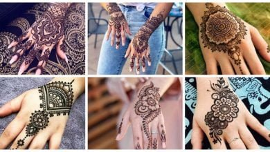 Photo of Simple And Easy Henna Tattoo Design