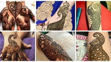 Photo of New peacock mehndi design collections