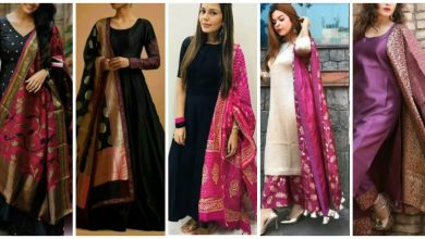 Photo of Trending Banarsi Dupatta Designs Collection With Contrast Dress Styling Ideas