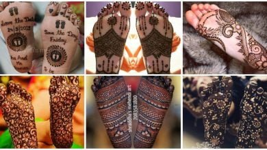 Photo of Attractive mehndi designs for sole of foot