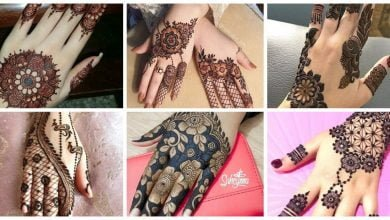 Photo of Striking back hand mehndi designs