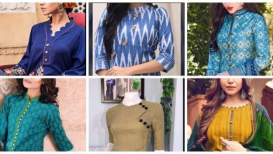 Photo of Pretty Button neck designs for kurtis