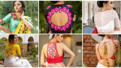 Photo of Embroidery blouse design
