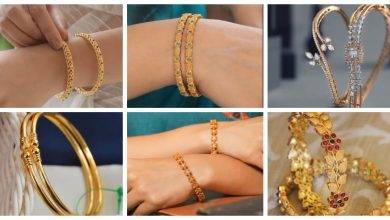 Photo of Trendy and classy  gold bangles