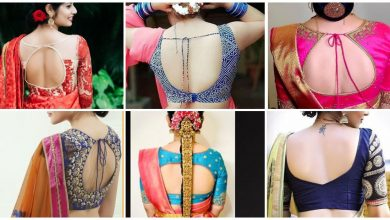 Photo of Trendy bouse back neck design