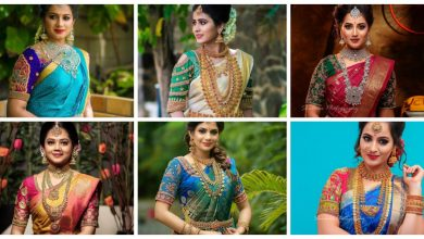 Photo of South Indian bridal blouse design