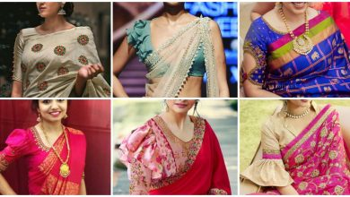 Photo of Saree blouse sleeve  design