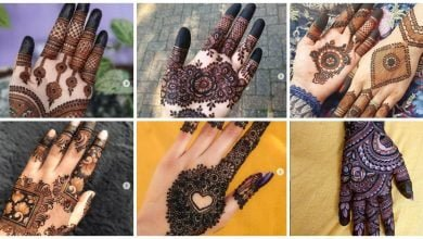 Photo of Stylish hand mehndi design