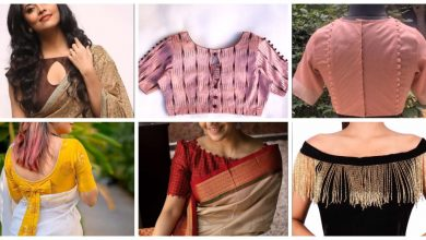 Photo of Simple blouse designs