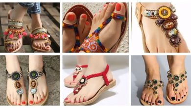 Photo of Extremely comfortable and bright shades flat sandals ideas