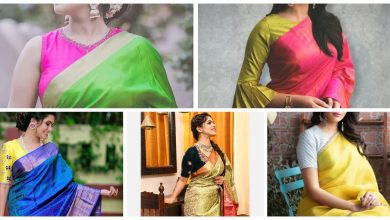 Photo of Sarees With mismatched blouses