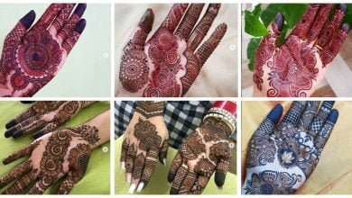 Photo of Front hand mehndi design