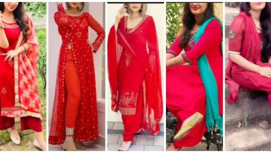 Photo of Red colour kurti design