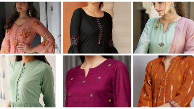 Photo of Trendy kurti neck design