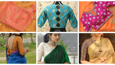 Photo of Brocade blouse design and styling ideas
