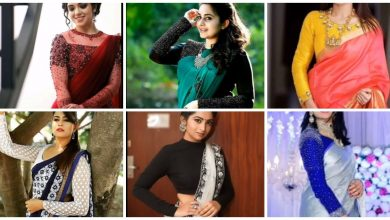 Photo of Full sleeves blouse designs