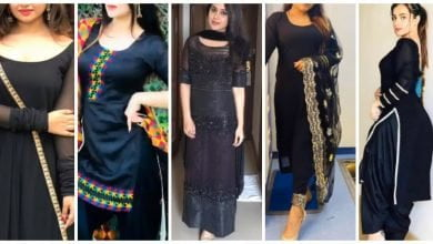 Photo of Latest and trendy black  kurti design