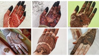 Photo of Simple mehndi design